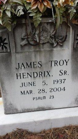 TROY HENDRIX, JAMES - Hot Spring County, Arkansas   JAMES TROY HENDRIX - Arkansas Gravestone Photos