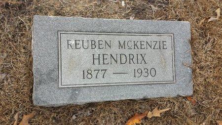 HENDRIX, REUBEN MCKENZIE - Hot Spring County, Arkansas | REUBEN MCKENZIE HENDRIX - Arkansas Gravestone Photos
