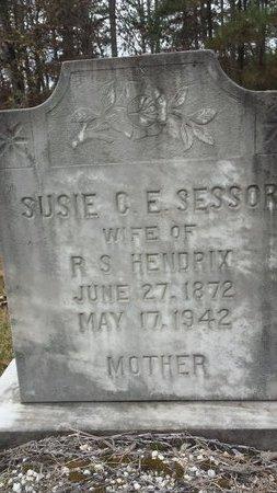 HENDRIX, SUSIE C.E. - Hot Spring County, Arkansas | SUSIE C.E. HENDRIX - Arkansas Gravestone Photos