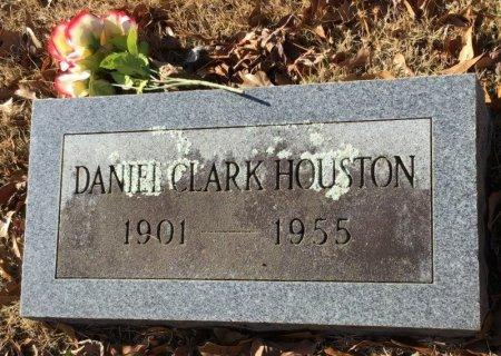 HOUSTON, DANIEL CLARK - Hot Spring County, Arkansas | DANIEL CLARK HOUSTON - Arkansas Gravestone Photos