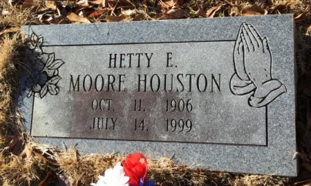 HOUSTON, HETTY E. - Hot Spring County, Arkansas | HETTY E. HOUSTON - Arkansas Gravestone Photos