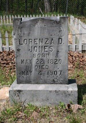 JONES, LORENZA D - Hot Spring County, Arkansas   LORENZA D JONES - Arkansas Gravestone Photos
