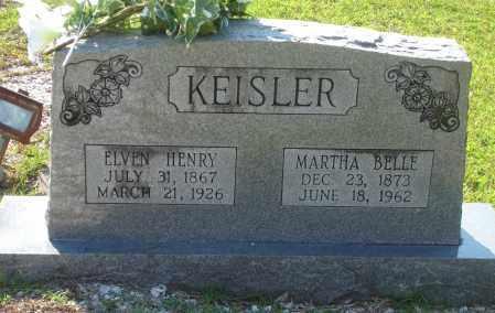 KEISLER, ELVIN HENRY - Hot Spring County, Arkansas   ELVIN HENRY KEISLER - Arkansas Gravestone Photos