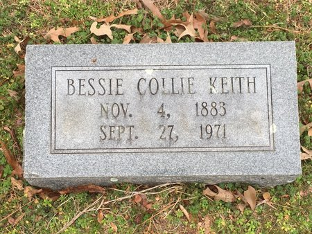 KEITH, BESSIE - Hot Spring County, Arkansas | BESSIE KEITH - Arkansas Gravestone Photos