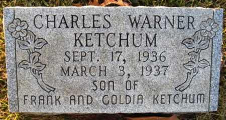 KETCHUM, CHARLES WARNER - Hot Spring County, Arkansas | CHARLES WARNER KETCHUM - Arkansas Gravestone Photos