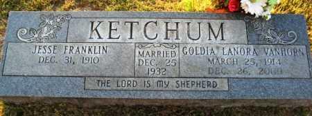 KETCHUM, GOLDIA LANORA - Hot Spring County, Arkansas | GOLDIA LANORA KETCHUM - Arkansas Gravestone Photos