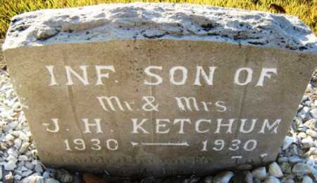 KETCHUM, INFANT SON - Hot Spring County, Arkansas | INFANT SON KETCHUM - Arkansas Gravestone Photos