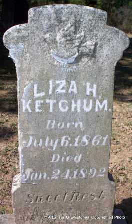 KETCHUM, LIZA H - Hot Spring County, Arkansas | LIZA H KETCHUM - Arkansas Gravestone Photos