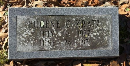KRATZ, EUGENE C. - Hot Spring County, Arkansas | EUGENE C. KRATZ - Arkansas Gravestone Photos
