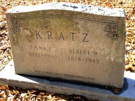 KRATZ, EMMA F. - Hot Spring County, Arkansas | EMMA F. KRATZ - Arkansas Gravestone Photos