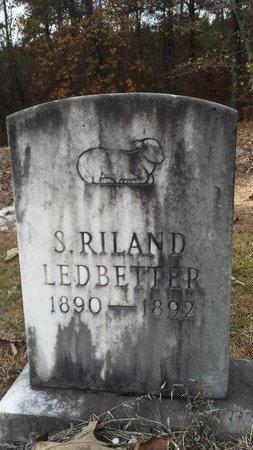 LEDBETTER, S. RILAND - Hot Spring County, Arkansas | S. RILAND LEDBETTER - Arkansas Gravestone Photos