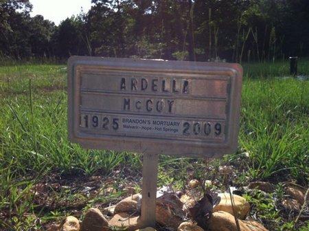 MCCOY, ARDELLA - Hot Spring County, Arkansas   ARDELLA MCCOY - Arkansas Gravestone Photos