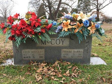 MCCOY, FRED DOUGLAS - Hot Spring County, Arkansas | FRED DOUGLAS MCCOY - Arkansas Gravestone Photos