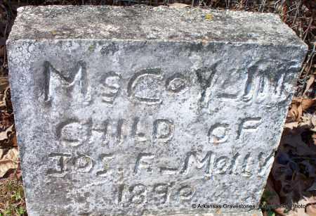 MCCOY, INFANT - Hot Spring County, Arkansas | INFANT MCCOY - Arkansas Gravestone Photos