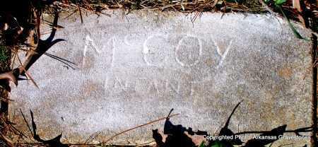 MCCOY, INFANT - Hot Spring County, Arkansas   INFANT MCCOY - Arkansas Gravestone Photos