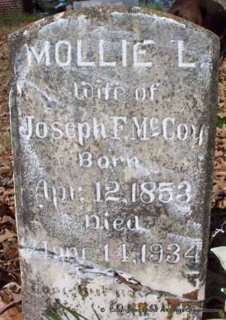 """MCCOY, MARY """"MOLLIE""""  LEE - Hot Spring County, Arkansas 