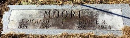 MOORE, BIRDIE N. - Hot Spring County, Arkansas | BIRDIE N. MOORE - Arkansas Gravestone Photos