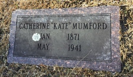"MUMFORD, CATHERINE ""KATE"" - Hot Spring County, Arkansas | CATHERINE ""KATE"" MUMFORD - Arkansas Gravestone Photos"