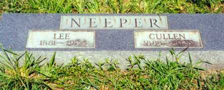 "ELLIOTT NEEPER, LELIA AUGUSTA ""LEE"" - Hot Spring County, Arkansas   LELIA AUGUSTA ""LEE"" ELLIOTT NEEPER - Arkansas Gravestone Photos"