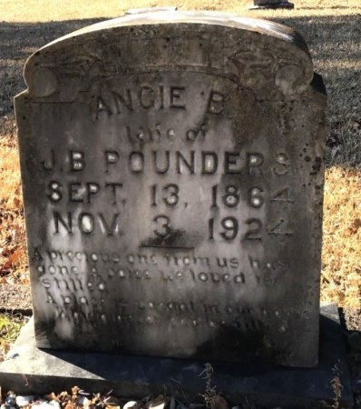 POUNDERS, ANGIE B. - Hot Spring County, Arkansas | ANGIE B. POUNDERS - Arkansas Gravestone Photos
