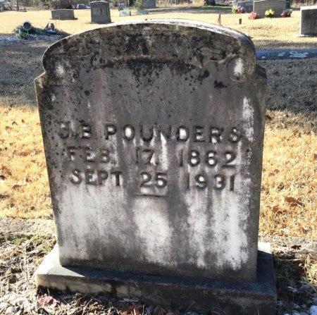 POUNDERS, J. B. - Hot Spring County, Arkansas | J. B. POUNDERS - Arkansas Gravestone Photos