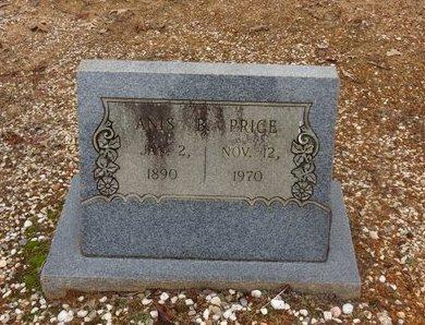 PRICE, ANIS B. - Hot Spring County, Arkansas | ANIS B. PRICE - Arkansas Gravestone Photos