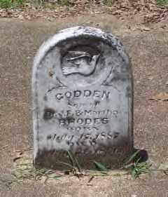 RHODES, GODDEN - Hot Spring County, Arkansas | GODDEN RHODES - Arkansas Gravestone Photos