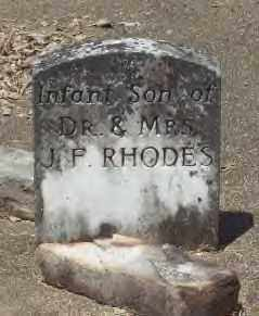 RHODES, INFANT SON - Hot Spring County, Arkansas   INFANT SON RHODES - Arkansas Gravestone Photos