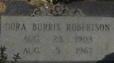 ROBERTSON, DORA - Hot Spring County, Arkansas | DORA ROBERTSON - Arkansas Gravestone Photos