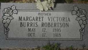 ROBERTSON, MARGARET VICTORIA - Hot Spring County, Arkansas | MARGARET VICTORIA ROBERTSON - Arkansas Gravestone Photos