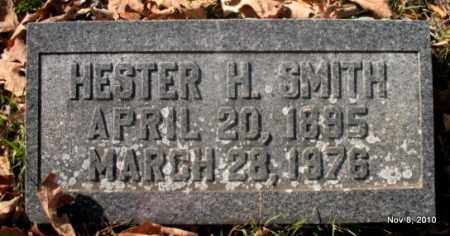 SMITH, HESTER H - Hot Spring County, Arkansas | HESTER H SMITH - Arkansas Gravestone Photos
