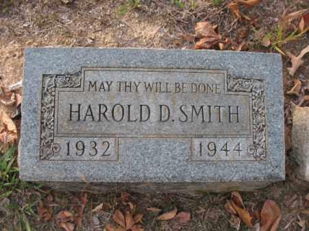SMITH, HAROLD D - Hot Spring County, Arkansas   HAROLD D SMITH - Arkansas Gravestone Photos