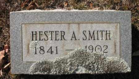SMITH, HESTER A - Hot Spring County, Arkansas | HESTER A SMITH - Arkansas Gravestone Photos