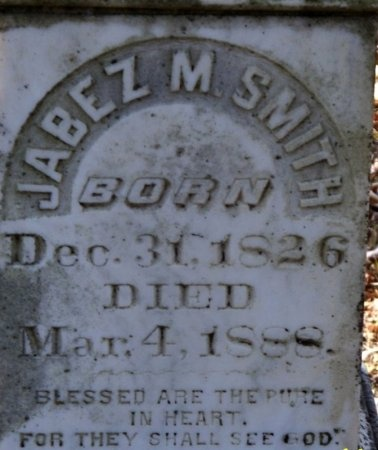 SMITH, JABEZ M. (CLOSE UP) - Hot Spring County, Arkansas | JABEZ M. (CLOSE UP) SMITH - Arkansas Gravestone Photos