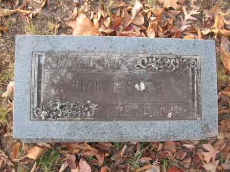 SMITH, LEON E - Hot Spring County, Arkansas   LEON E SMITH - Arkansas Gravestone Photos
