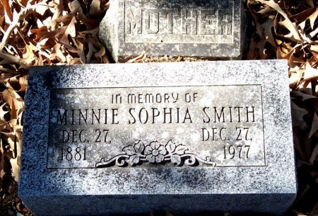 SMITH, MINNIE SOPHIA - Hot Spring County, Arkansas | MINNIE SOPHIA SMITH - Arkansas Gravestone Photos