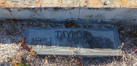 TAYLOR, WILLIAM T. - Hot Spring County, Arkansas   WILLIAM T. TAYLOR - Arkansas Gravestone Photos
