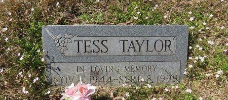 TAYLOR, TESS - Hot Spring County, Arkansas | TESS TAYLOR - Arkansas Gravestone Photos