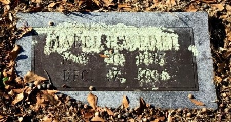 WEDEL, MABLE E. - Hot Spring County, Arkansas | MABLE E. WEDEL - Arkansas Gravestone Photos