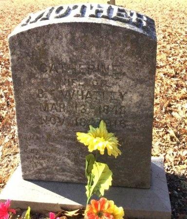 WHATLEY, CATHERINE - Hot Spring County, Arkansas | CATHERINE WHATLEY - Arkansas Gravestone Photos