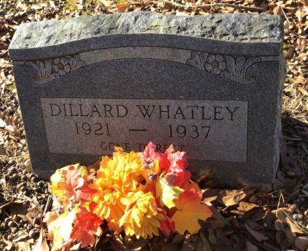 WHATLEY, DILLARD - Hot Spring County, Arkansas | DILLARD WHATLEY - Arkansas Gravestone Photos