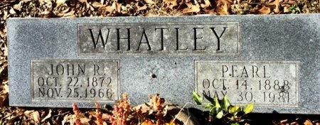 WHATLEY, JOHN R. - Hot Spring County, Arkansas | JOHN R. WHATLEY - Arkansas Gravestone Photos
