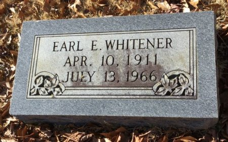 WHITENER, EARL E. - Hot Spring County, Arkansas | EARL E. WHITENER - Arkansas Gravestone Photos