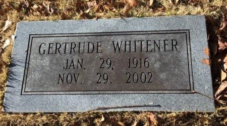 WHITENER, GERTRUDE - Hot Spring County, Arkansas | GERTRUDE WHITENER - Arkansas Gravestone Photos
