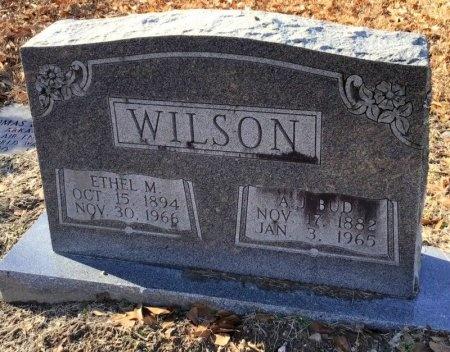 "WILSON, A. J. ""BUD"" - Hot Spring County, Arkansas | A. J. ""BUD"" WILSON - Arkansas Gravestone Photos"