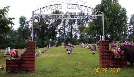 *ATHENS GATE,  - Howard County, Arkansas |  *ATHENS GATE - Arkansas Gravestone Photos