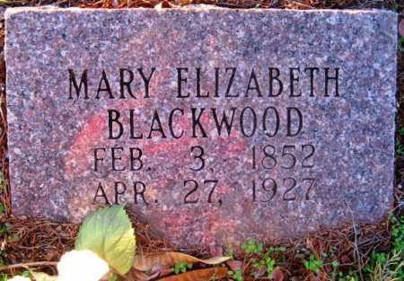 BLACKWOOD, MARY ELIZABETH - Howard County, Arkansas   MARY ELIZABETH BLACKWOOD - Arkansas Gravestone Photos