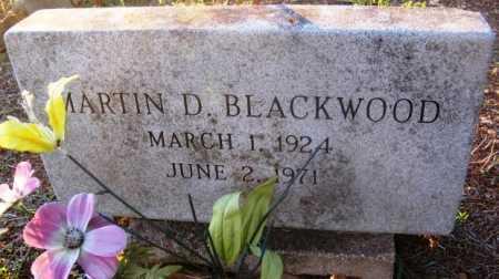 BLACKWOOD, MARTIN D - Howard County, Arkansas | MARTIN D BLACKWOOD - Arkansas Gravestone Photos