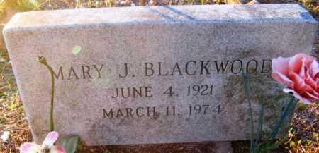 BLACKWOOD, MARY J - Howard County, Arkansas | MARY J BLACKWOOD - Arkansas Gravestone Photos
