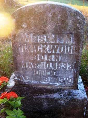BLACKWOOD, MRS, M M - Howard County, Arkansas | M M BLACKWOOD, MRS - Arkansas Gravestone Photos